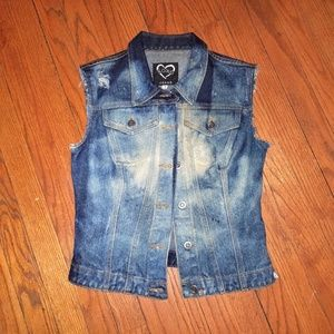 XOXO Denim Vest